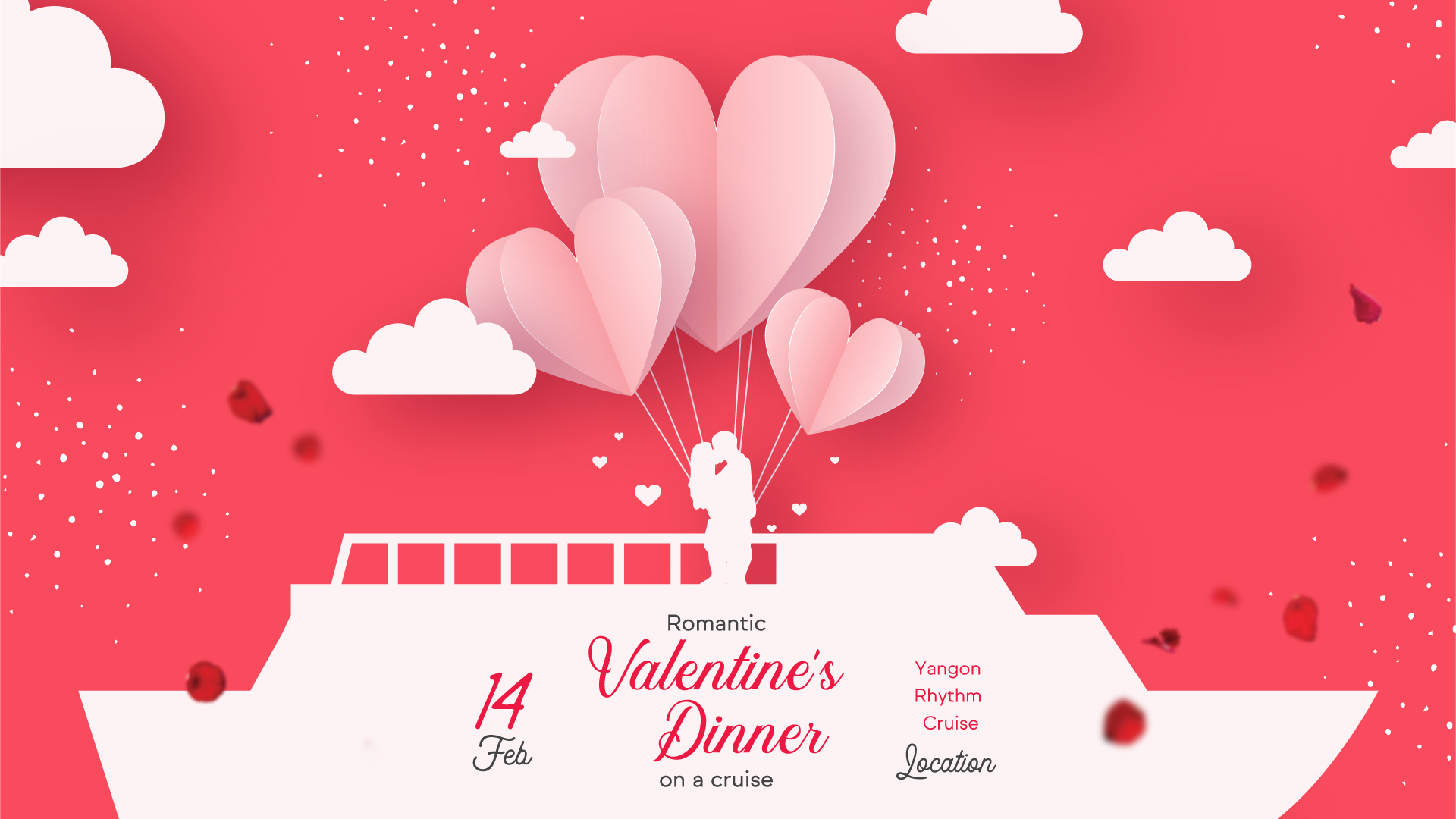 Get 35% Off Valentine's Day Event Package