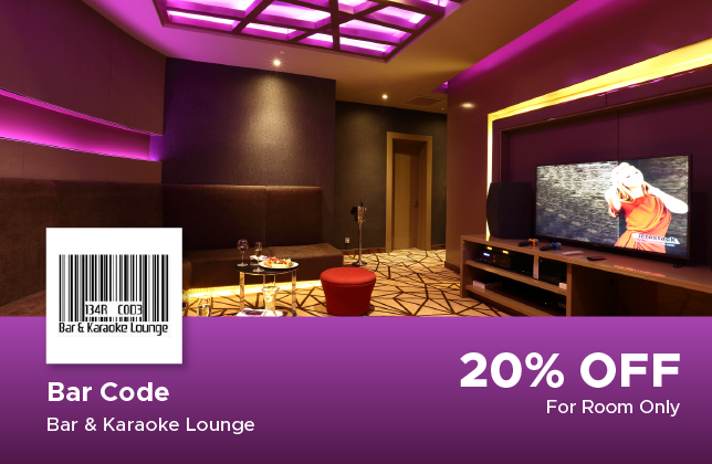 20% Discount For room at Novotel Hotel Bar Code, Bar & Karaoke Lounge
