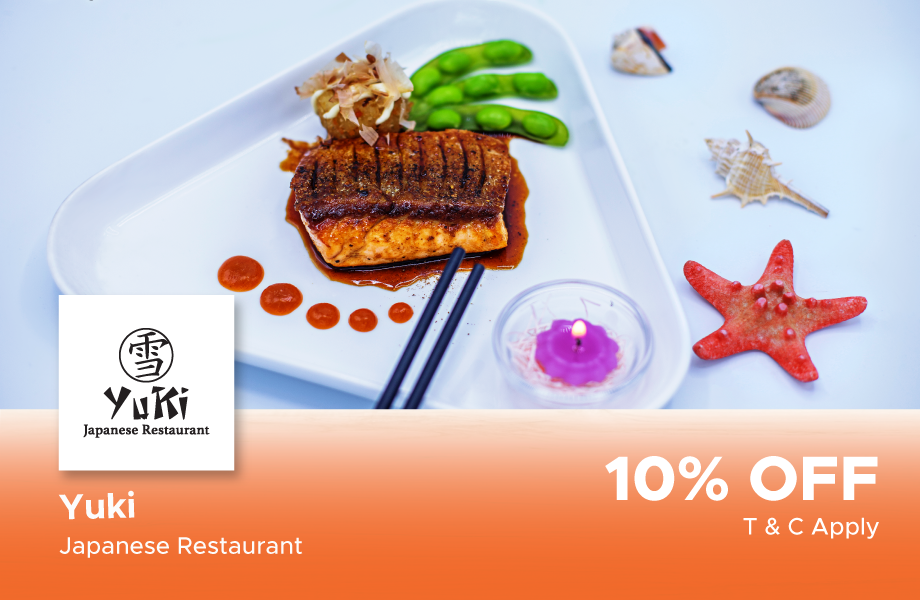 10% Off on total bill