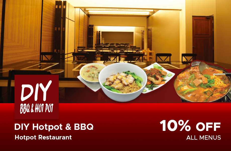10% Discount For All Menu