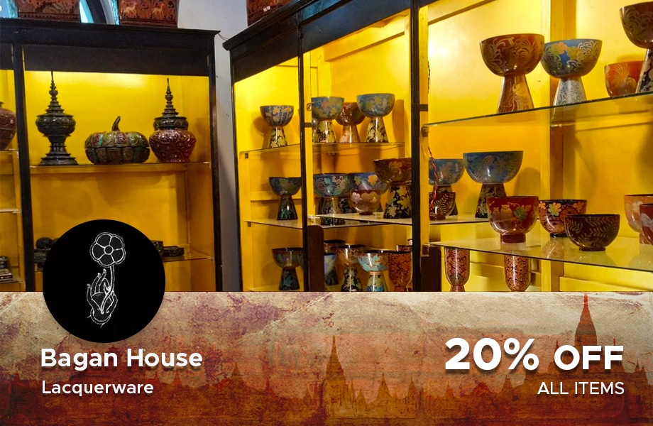 20% Discount at Bagan House (Lacquerware)