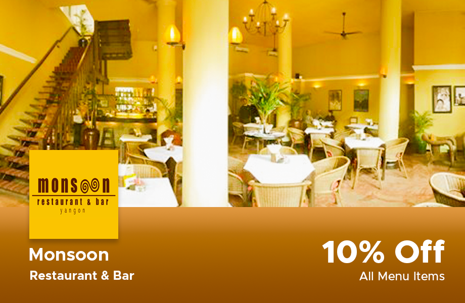 10% Discount For All Menu Items