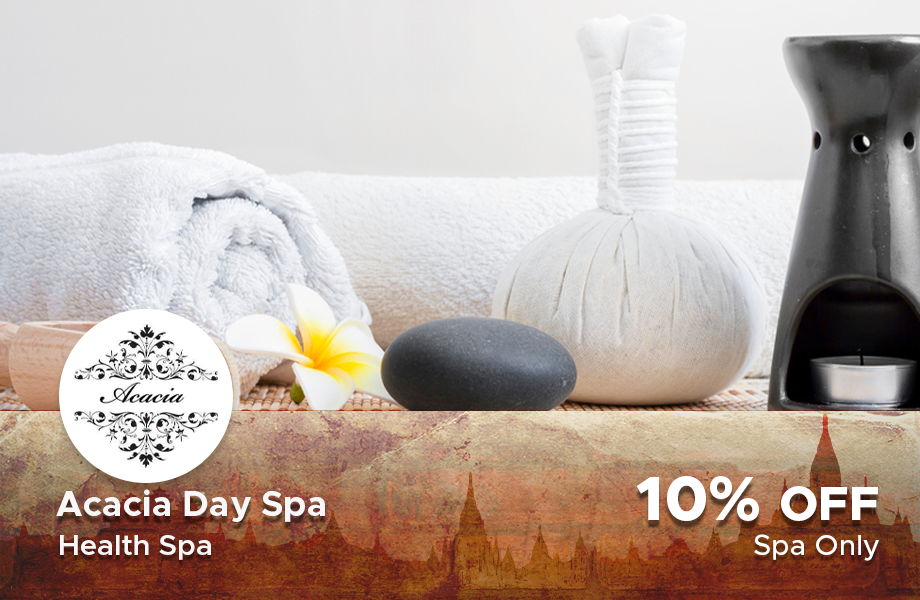 10% Discount at Acacia Spa, Bagan