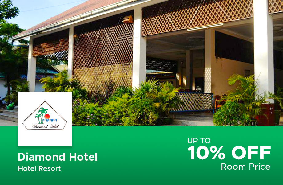Room Price 10% Discount ( Public Holiday 5% Off)