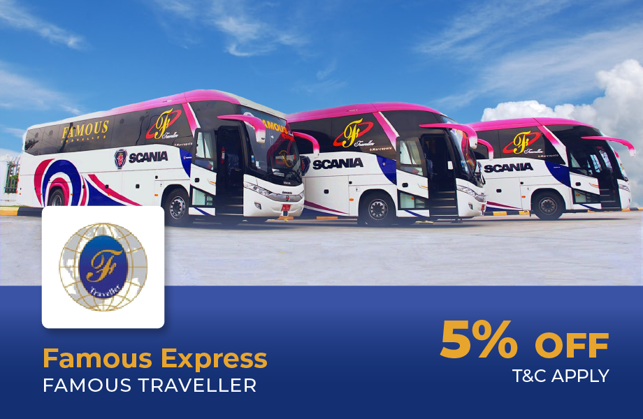5% Off For Any Route