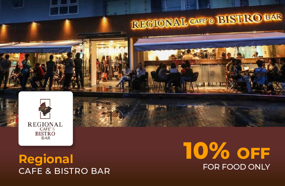 10% Discount For Food Only
