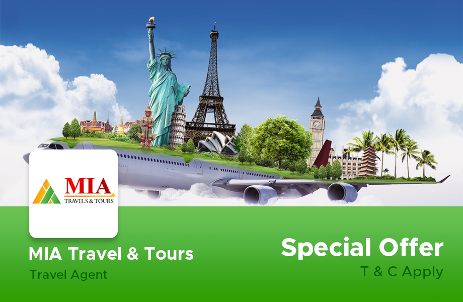Special Promotions on Flight Tickets and Tour Packages