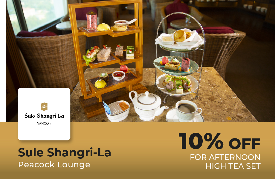 10% Off For Afternoon High Tea Set