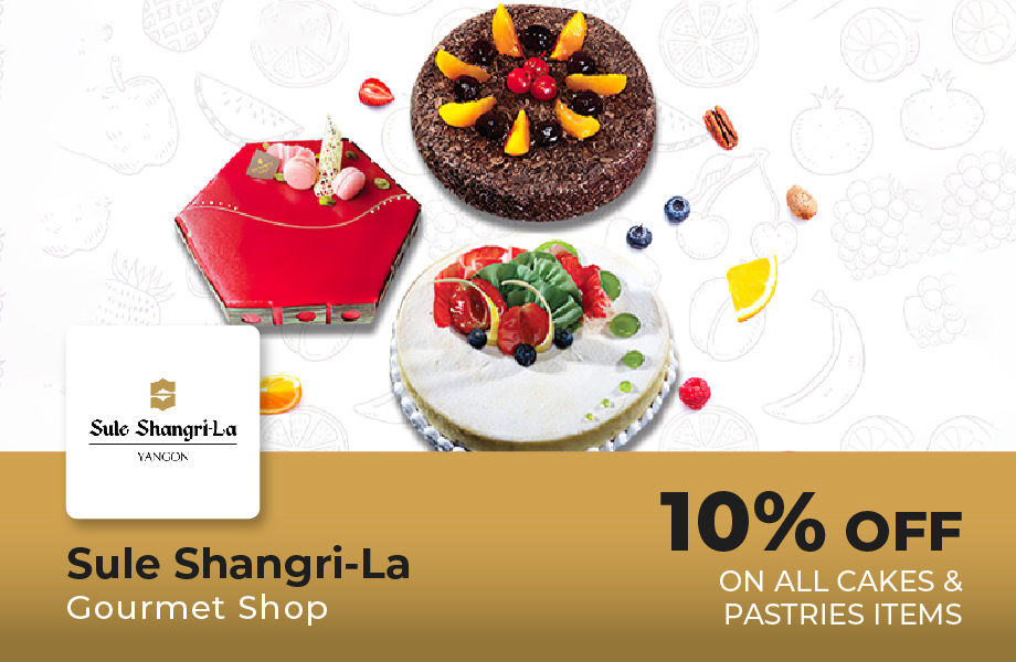10% Off For All Cakes and Pastries Items