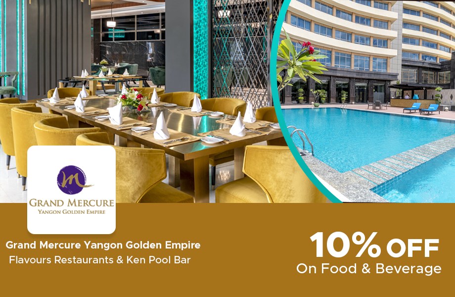10% Off On Flavours Restaurants and Ken Pool Bar
