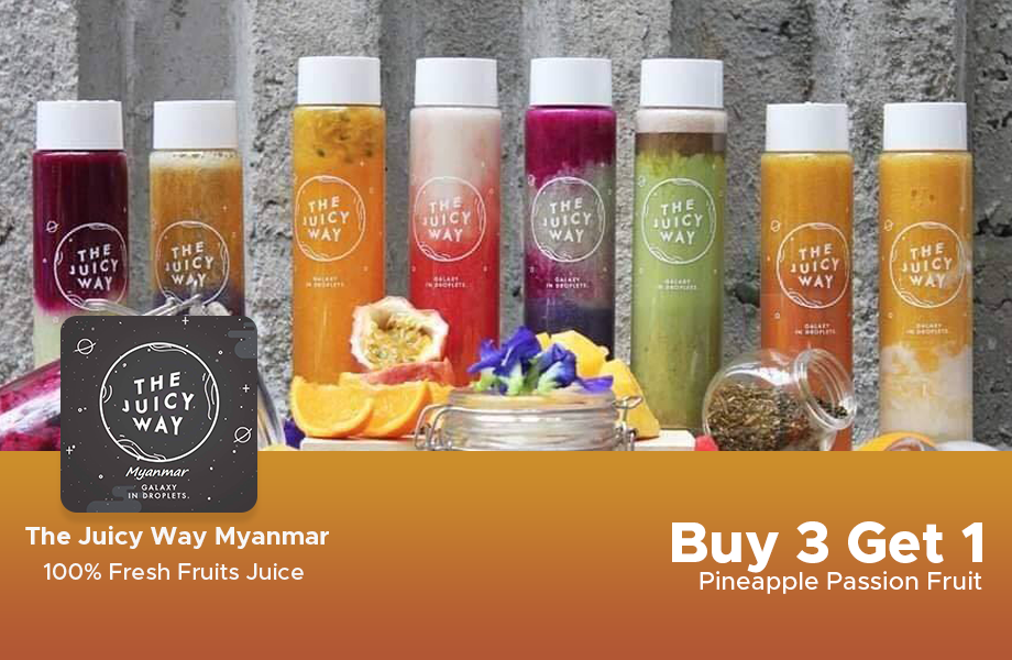 Buy 3 Get Pineapple Passion Fruit