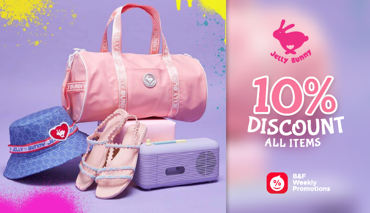 10% Discount For All Items